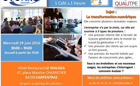QUALITPE Ptit dej pro 2 - Carpentras - 2016 06 29