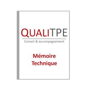 Réalisation de Mémoire Technique sur Avignon